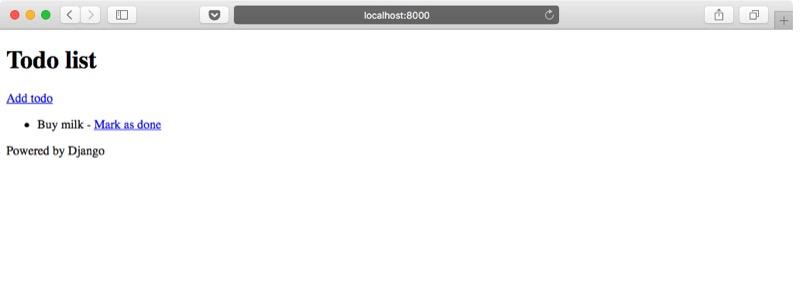 Aplicación web Django lista de tareas