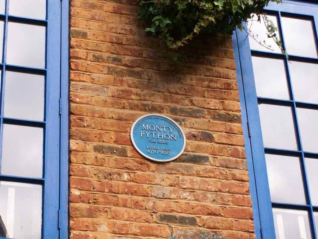 Monty Python lived here