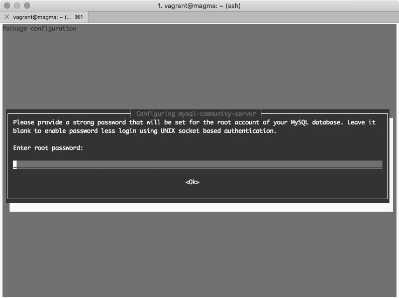 MySQL contraseña usuario root en Debian