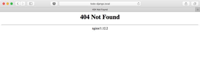 Nginx página no encontrada