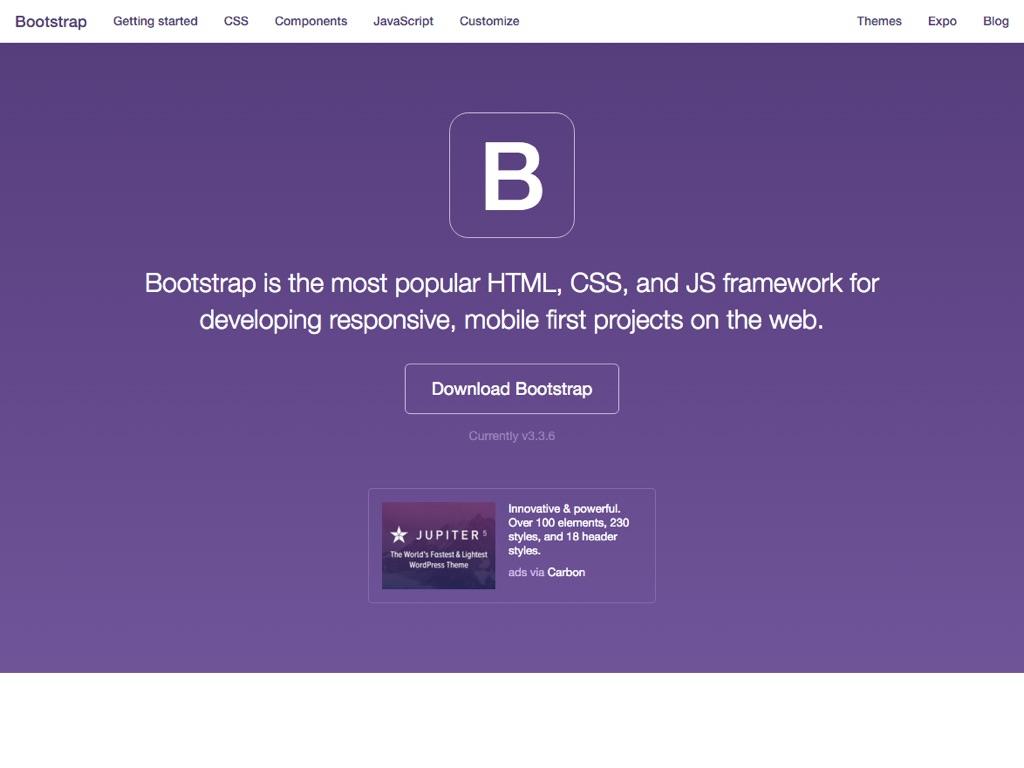 Cómo usar Bootstrap en una aplicación web